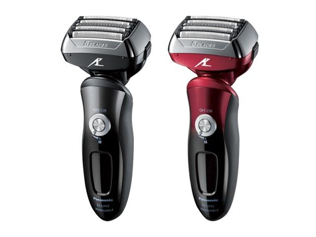 ES-LV52には全自動洗浄充電器が付属しない。カラーは黒と赤が用意される