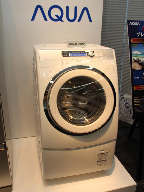 ドラム式洗濯乾燥機「AQW-DJ6000」