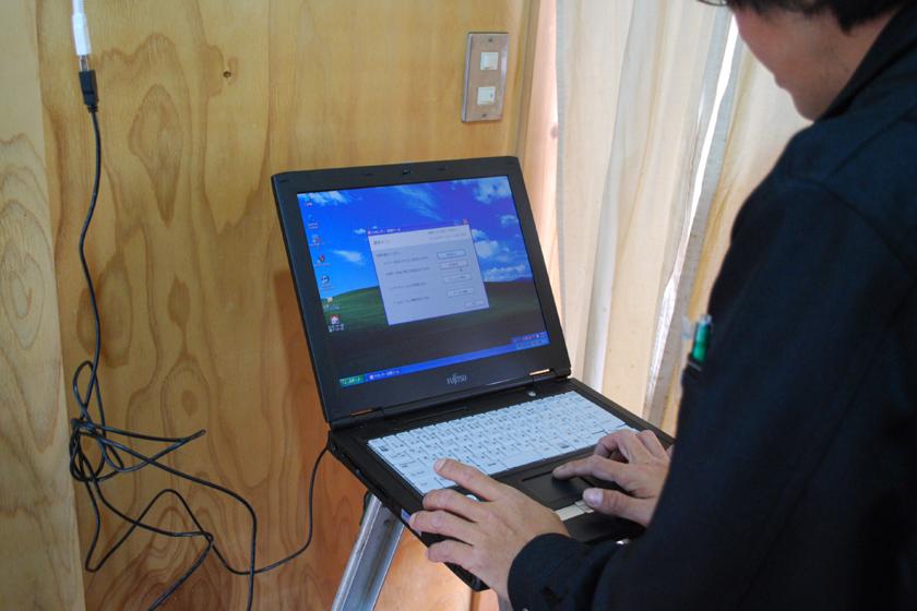センサーボックスは、Wi-Fiで筆者の家の無線LANルーターに接続される