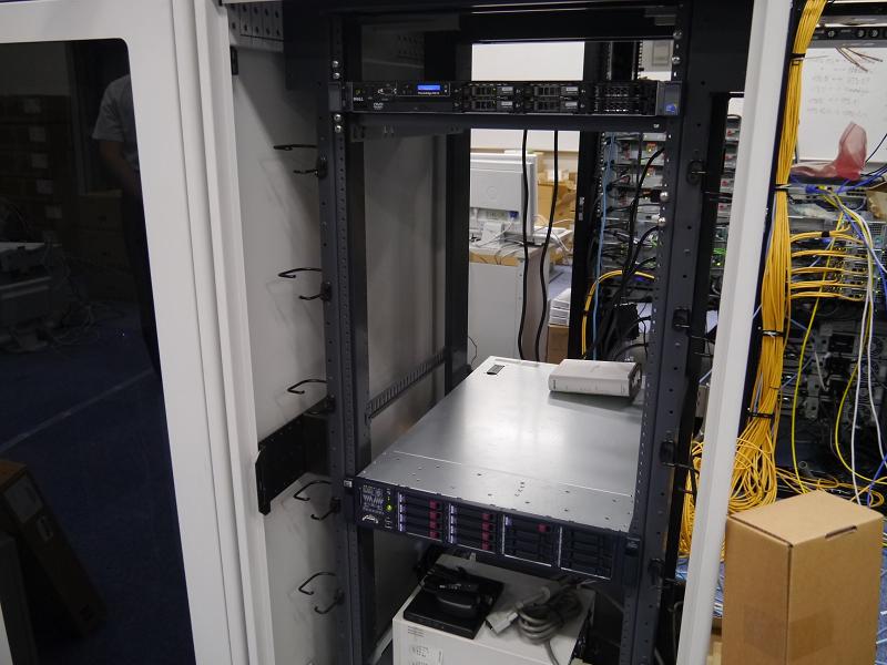 大阪大学CMCグリーンITプロジェクトで使用しているサーバー