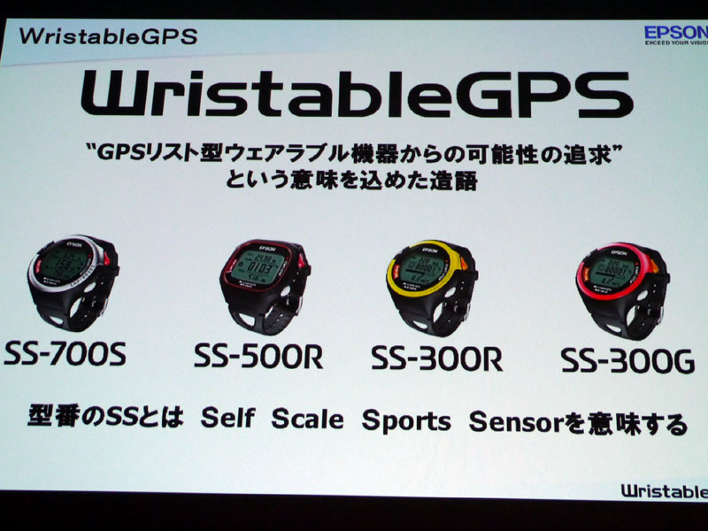 型番のSSは、「Self Scale Sport Sensor」の略