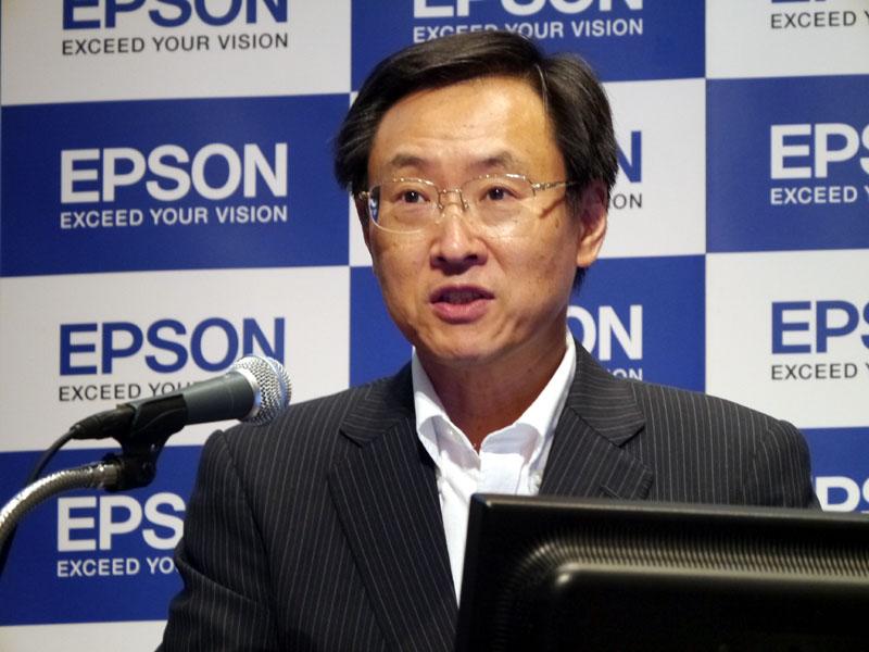 碓井稔 代表取締役社長
