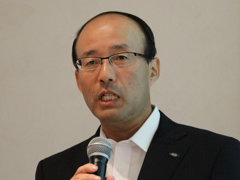 シャープ 健康・環境システム事業本部 調理システム事業部長 藤井正信氏