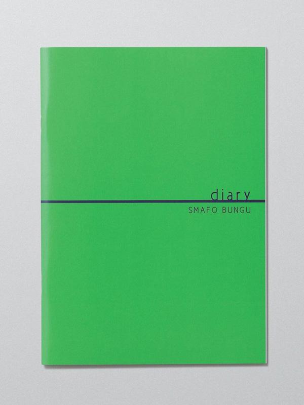 各タイプとも色は5色用意する。写真は全てダイアリータイプ。グリーン
