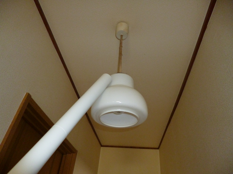 ホコリの溜まりやすい照明器具にも届く