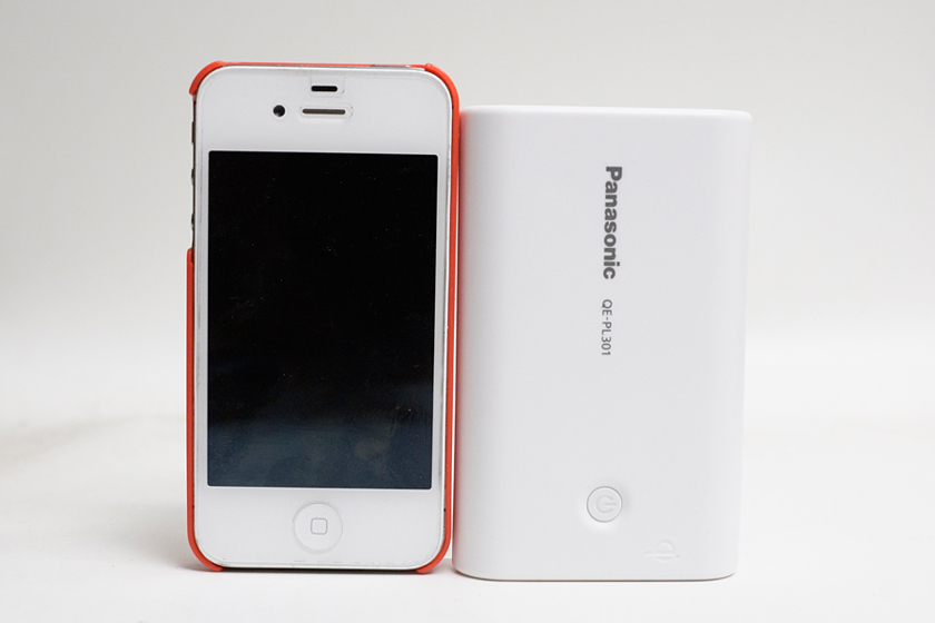 iPhone 4Sと比較してみたところ