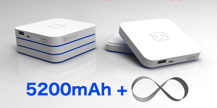 メインバッテリーにサブバッテリーを積み重ねることで、容量が拡張できる点が特徴