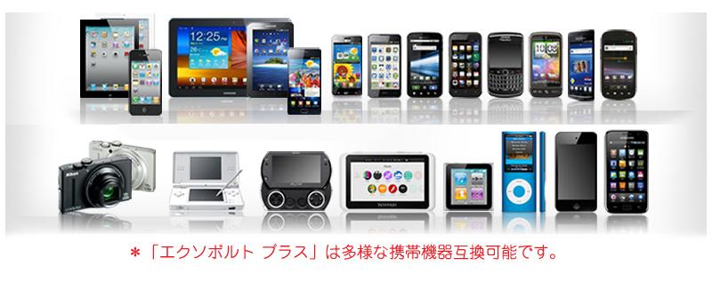 「Made for iPod/iPhone/iPad」のライセンスを取得。Android系のスマートフォンなどさまざまな機種にも対応するという