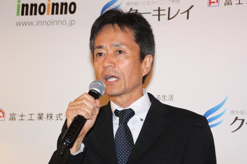 富士工業専務取締役 営業本部 奥山雅士 本部長