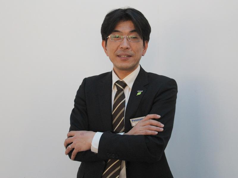 パナソニック アプライアンス社 技術本部 ホームアプライアンス開発センター チームリーダーの石丸直昭氏