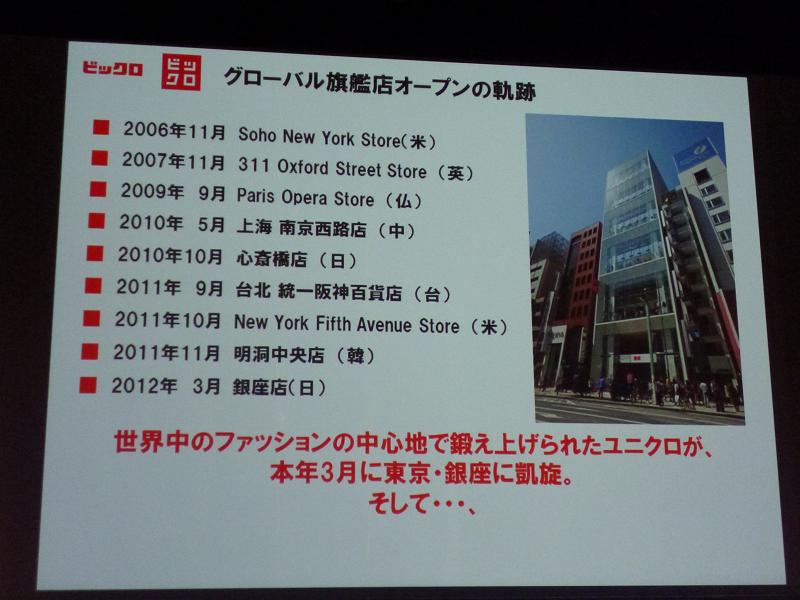 ビックロ内のユニクロは、日本国内では銀座に次ぐ床面積となる