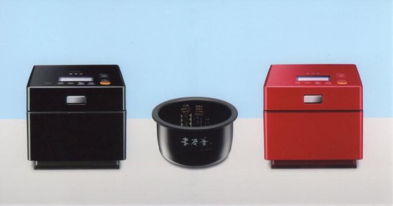 三菱電機「蒸気レスIHジャー炊飯器・本炭釜 NJ-XW103J」カラーはピアノブラックとルビーレッド。実勢価格は104,800円前後