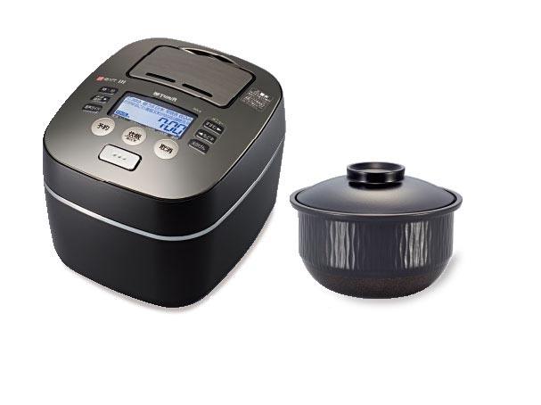 タイガー魔法瓶「圧力IH炊飯器 THE 炊きたて」JKX-A100。希望小売価格は147,000円