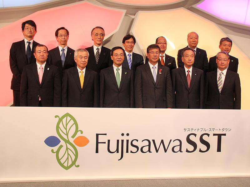 発表会には各社の代表者も出席した
