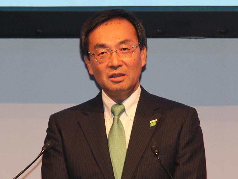 パナソニック 津賀一宏代表取締役社長