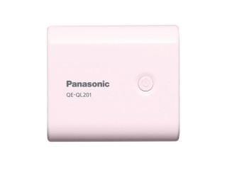 容量5,400mAhの「USBモバイル電源 QE-QL201-P」