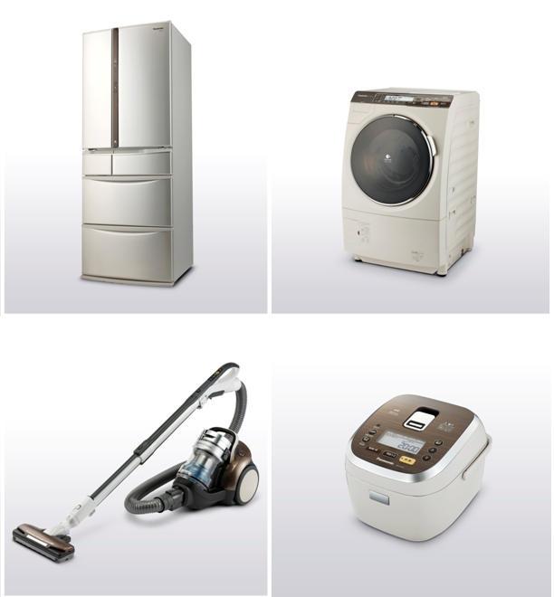 パナソニックの再生材を利用した家電シリーズ「資源循環型商品群」