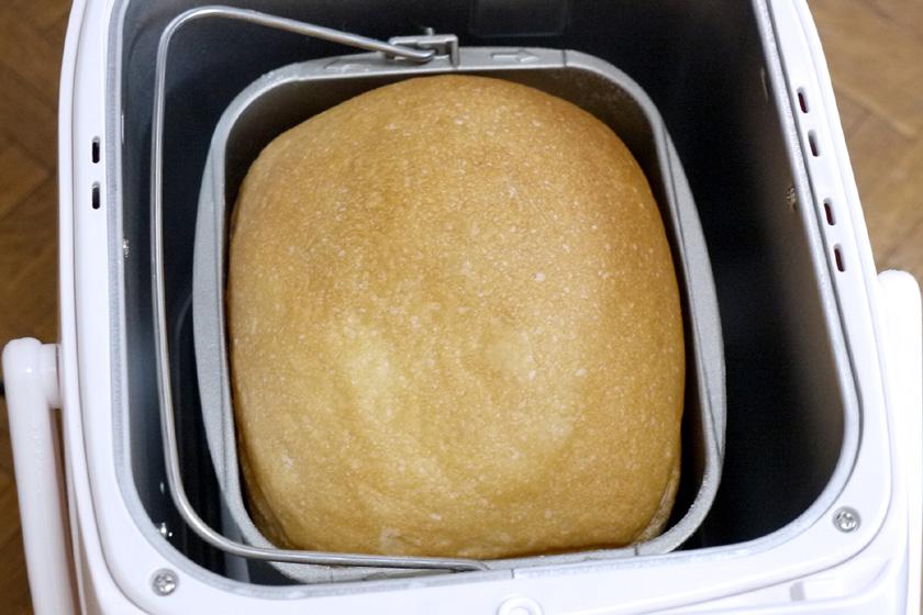 完成した食パン