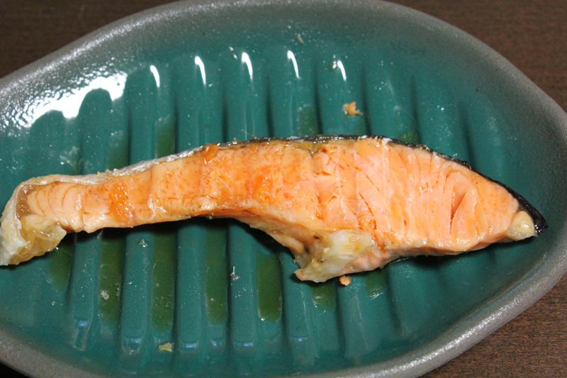 最初に作った生鮭の切り身
