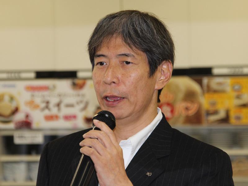 広報担当部長 小田恒敬氏