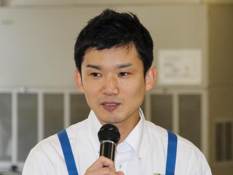 第二事業部 サブマネージャーの西広嗣氏
