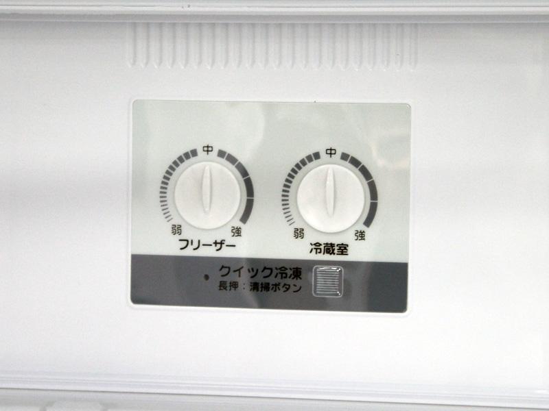 冷蔵室奥に設けられた操作ダイヤル