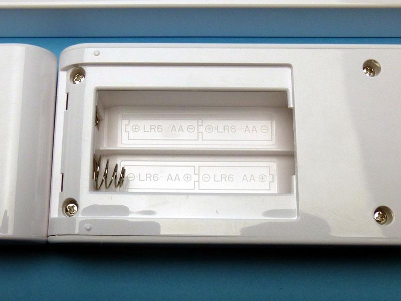 電池ボックス内の方向指示