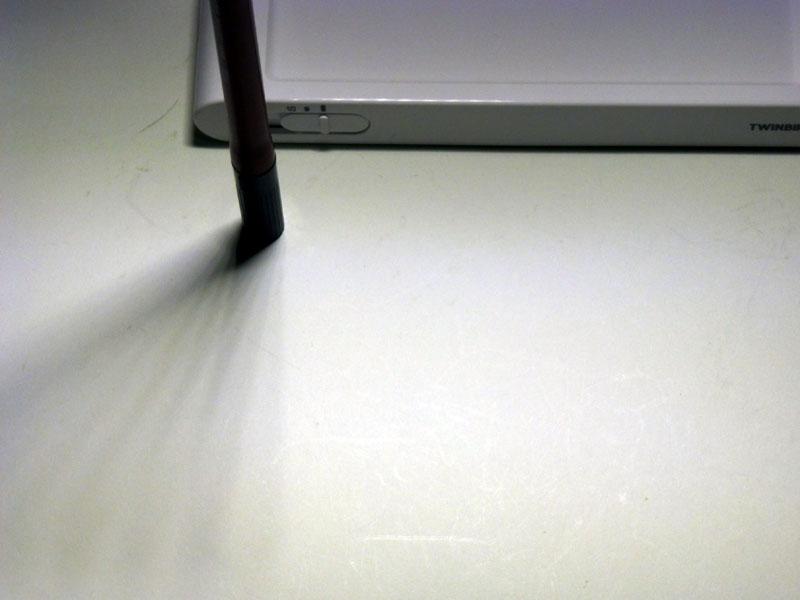 横にずれた位置でも影は複数できる