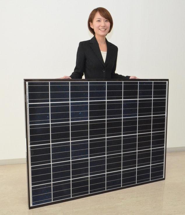 200W出力の太陽電池モジュール「ECONOROOTS」