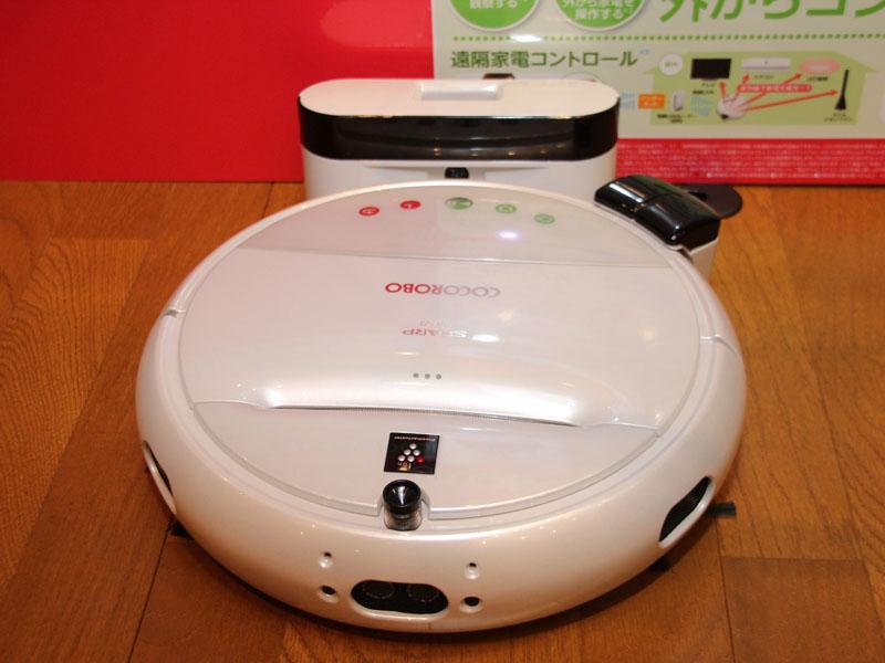 ココロボ RX-V100。家電コントローラーを設置した状態