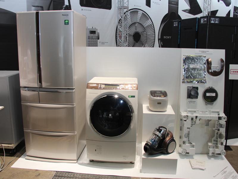 大賞候補には、パナソニックのリサイクル家電シリーズ「資源循環商品」も選ばれていたが、投票の結果10位だった