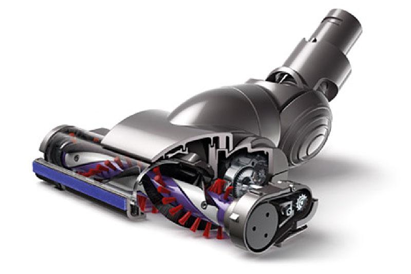 ヘッド内のブラシを回転させるモーターのパワーが2倍になって、ゴミやホコリをよく吸うようになったという印象