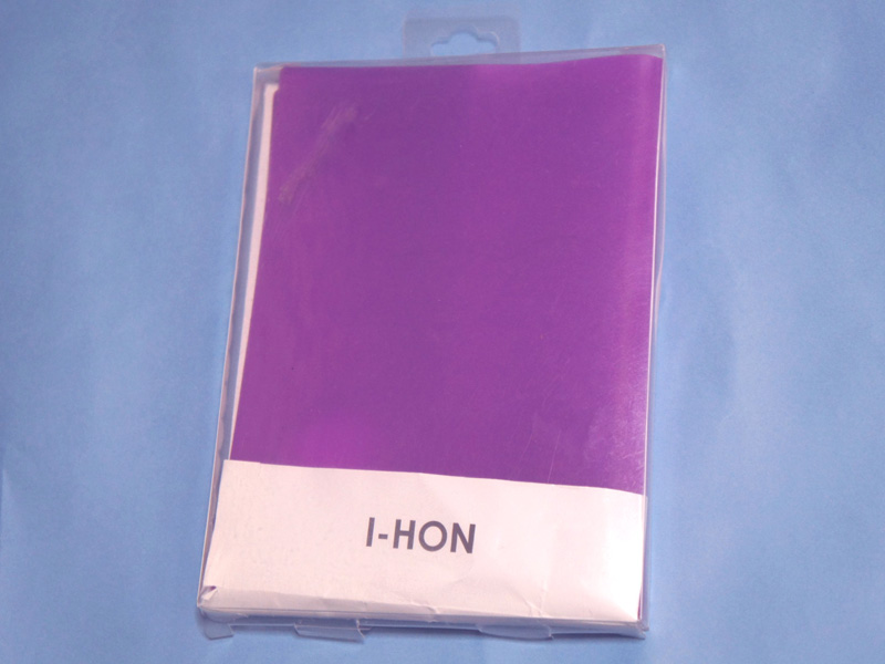 パッケージには「I-HON」と書かれているのみ。ユニークなネーミングだ