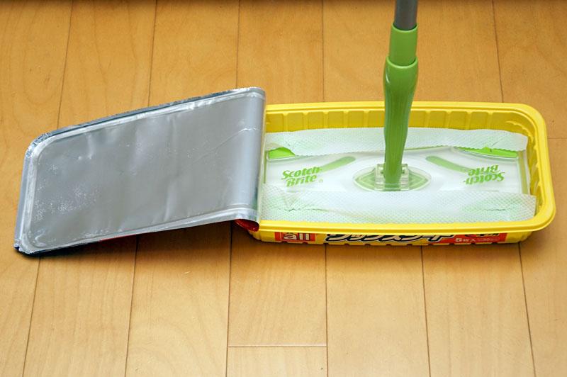 塗布後、乾燥するのに約10分かかる。耐久性は約4カ月。手軽さと耐久性のバランスが良いと思う