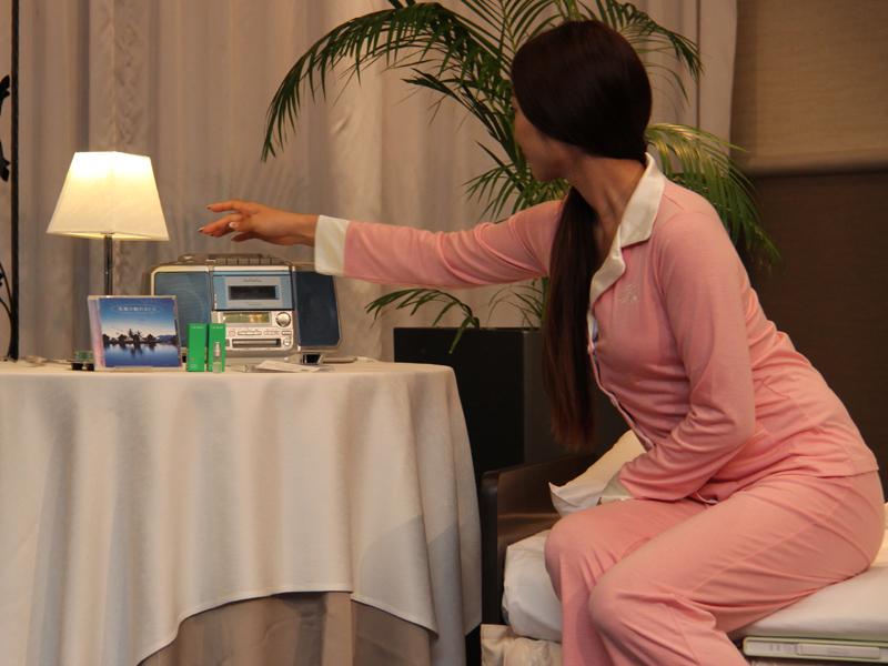 究極の眠れるCDはホテルから貸し出されるCDプレーヤーで再生する