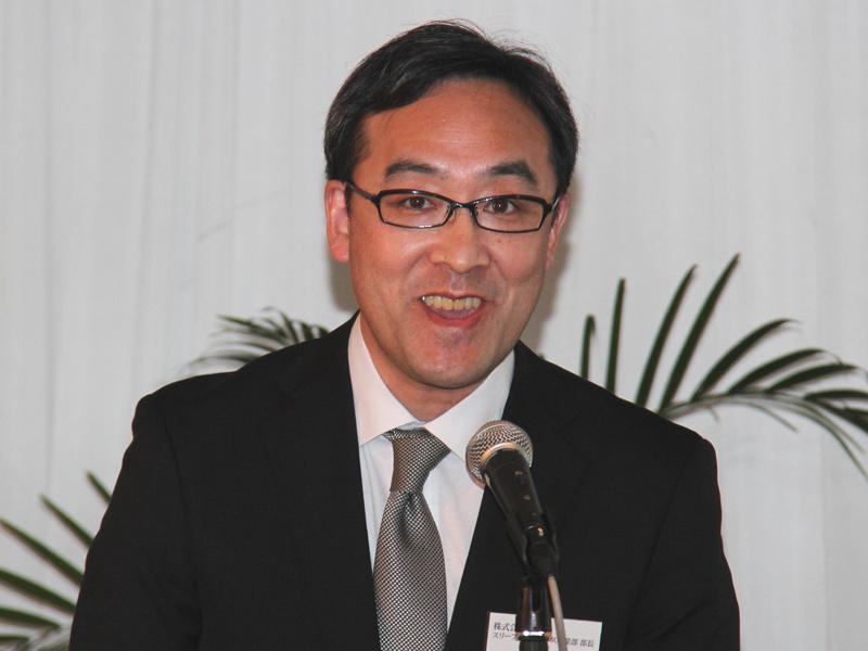 タニタ、スリープ&ウェルネス事業部 佐藤富男部長