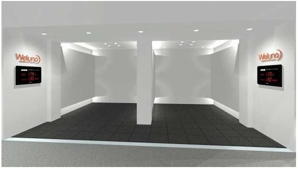 東芝の明るさ感の指標「Weluna」が体感できる空間