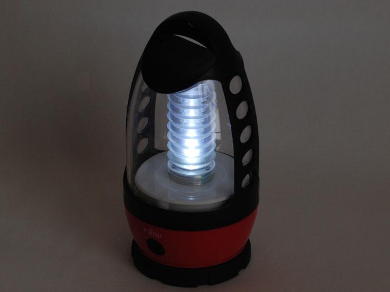 LEDを取り巻くチューブが光って見える