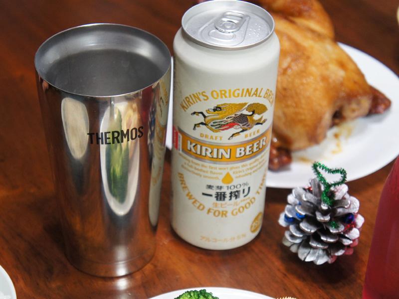ビールにぴったりのサイズ