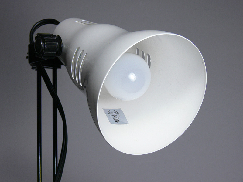 """<strong class="""""""">【ミニクリプトン電球:40W】</strong><br class=""""""""><br class="""""""">電球の球体部が見える角度から撮影した"""