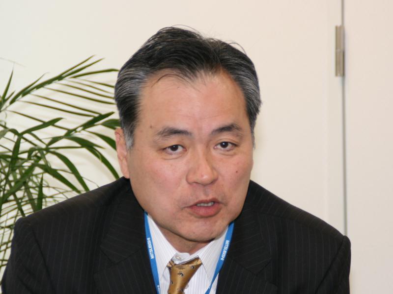 三菱電機 リビング・デジタルメディア事業本部 家電事業部長 荒木茂氏