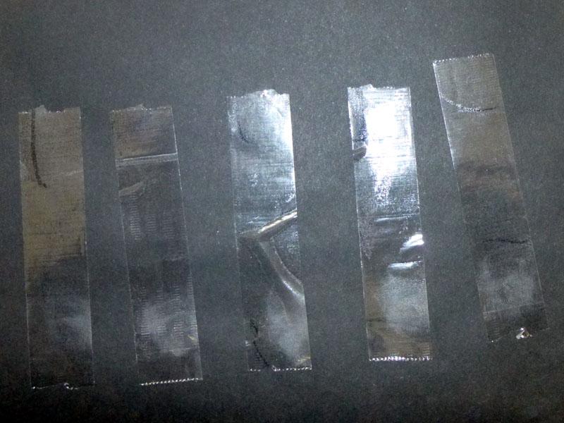 こんな感じで、ほぼ一定の長さにテープが切れる