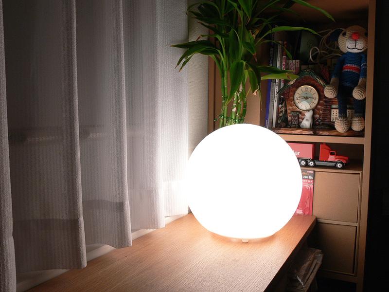 "<strong class="""">【ミニクリプトン電球:40W】</strong><br class="""">40W形はかなり明るい。直視するには不快な眩しさを感じてしまう"