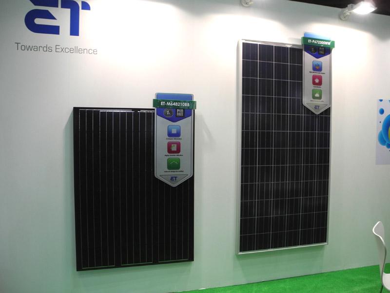 中国の「ET Solar」は、2012年に東京支社を開設