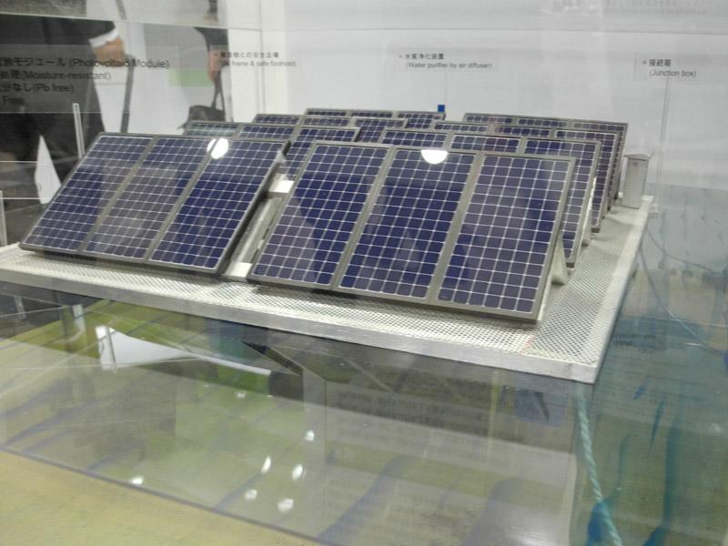 LS産電の水上太陽光システム