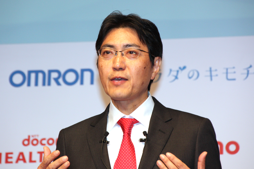 ドコモ・ヘルスケア 竹林一 代表取締役社長