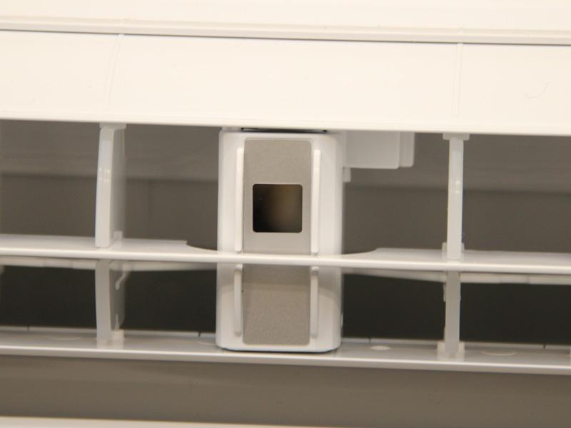 送風口には三菱独自の「部屋干し3Dムーブアイ」が搭載されている