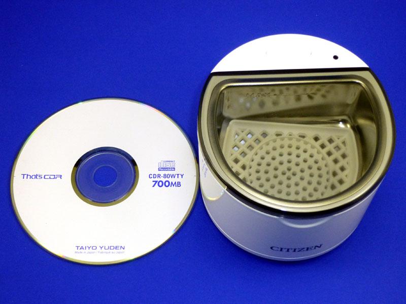 CDも洗えない