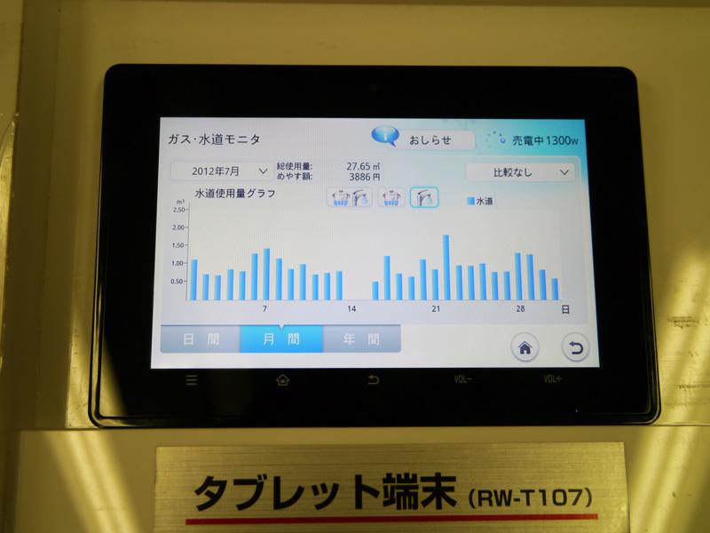 専用タブレット端末「RW-T107」