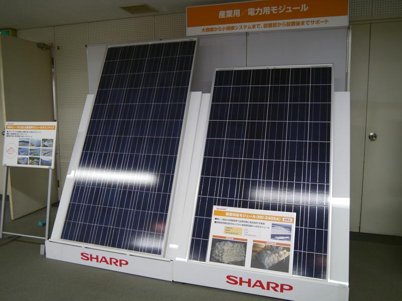 産業用太陽光発電モジュール